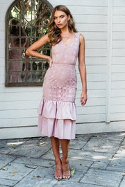 Izzy Dress - Dusty Pink - SHOPJAUS - JAUS