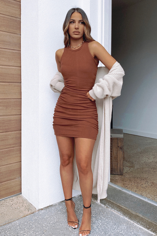 Essence Dress - Chocolate