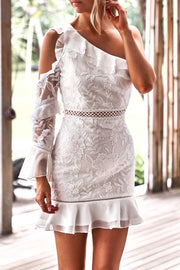 Indiana Dress - White (PREORDER) - SHOPJAUS - JAUS