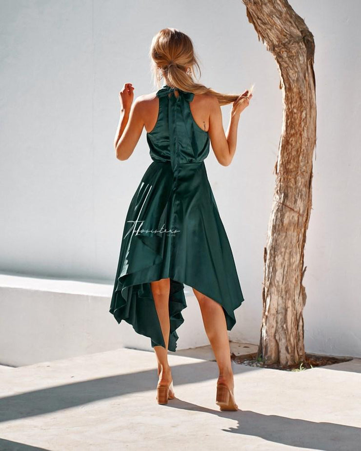 Kathleen Dress - Emerald Green - SHOPJAUS - JAUS