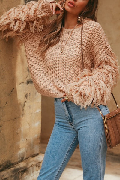 Lanah Sweater - Beige - SHOPJAUS - JAUS