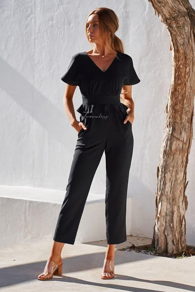 Layna Jumpsuit - Black - SHOPJAUS - JAUS