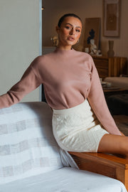 Rora Knit Jumper - Blush