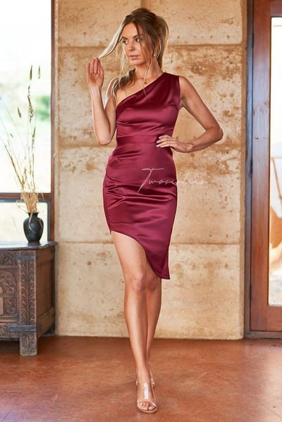 Lindsey Dress - Red - SHOPJAUS - JAUS