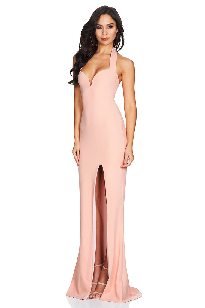 Nookie Madonna Gown - Blush - SHOPJAUS - JAUS