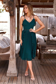Maia Dress - Green - SHOPJAUS - JAUS