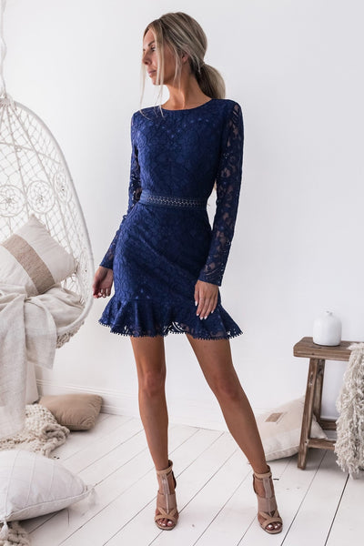 Medindie Dress - Navy - SHOPJAUS - JAUS