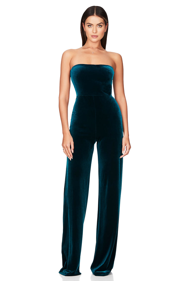 Nookie Mercury Jumpsuit - Teal - SHOPJAUS - JAUS