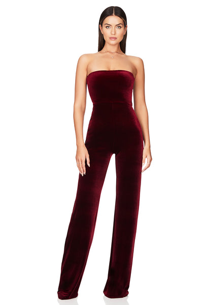 Nookie Mercury Jumpsuit - Wine - SHOPJAUS - JAUS