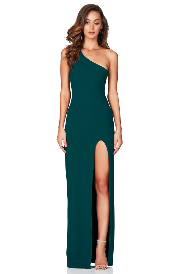 Nookie Mila Gown - Teal - SHOPJAUS - JAUS