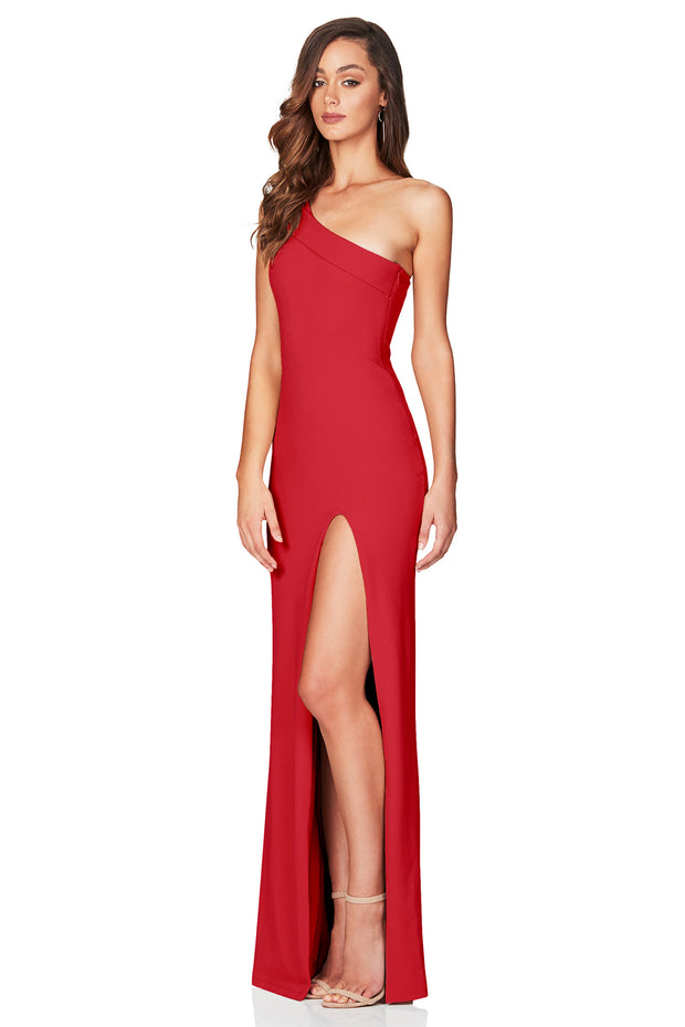 Nookie Mila Gown - Flame - SHOPJAUS - JAUS