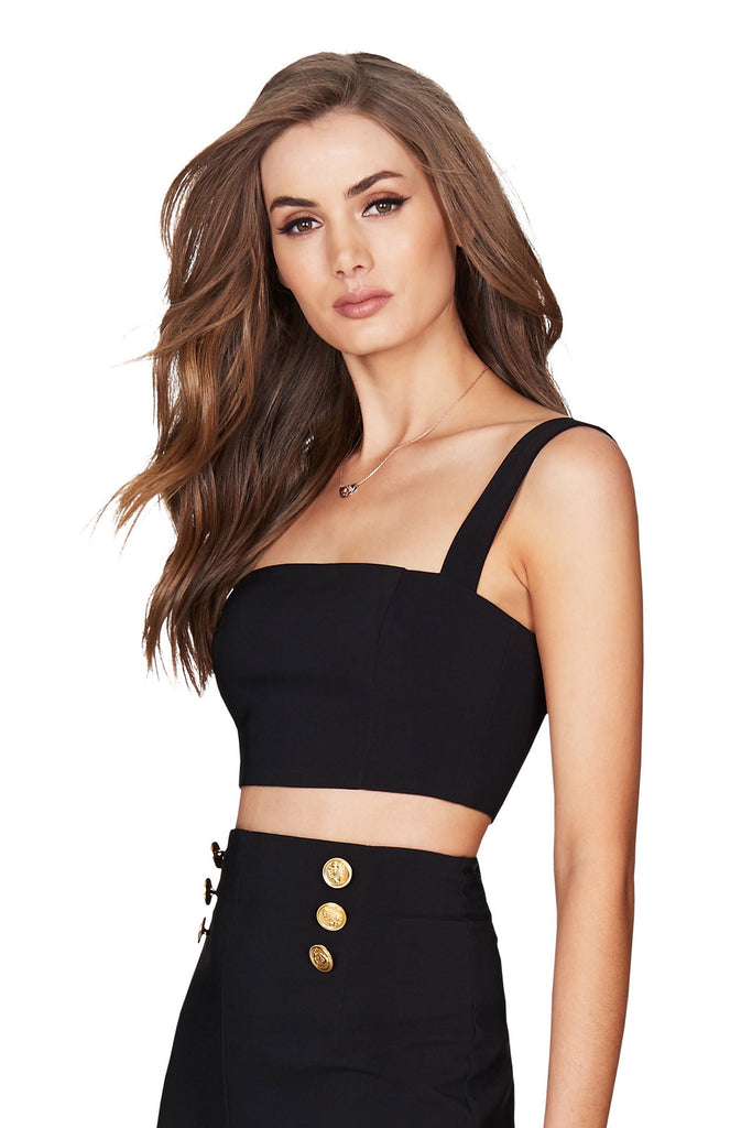Nookie Milano Crop - Black