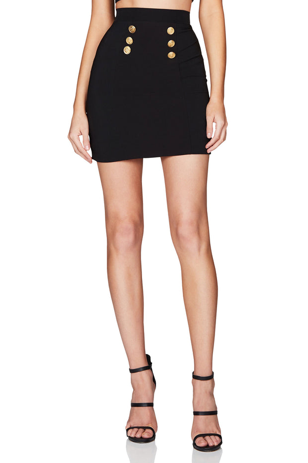 Nookie Milano Skirt - Black - SHOPJAUS - JAUS