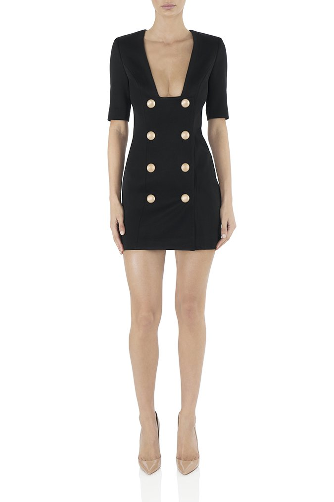 Misha Collection Kira Blazer Dress - Black - SHOPJAUS - JAUS