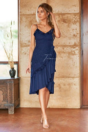 Margot Dress - Navy - SHOPJAUS - JAUS