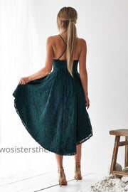 Marilyn Dress - Emerald Green - SHOPJAUS - JAUS