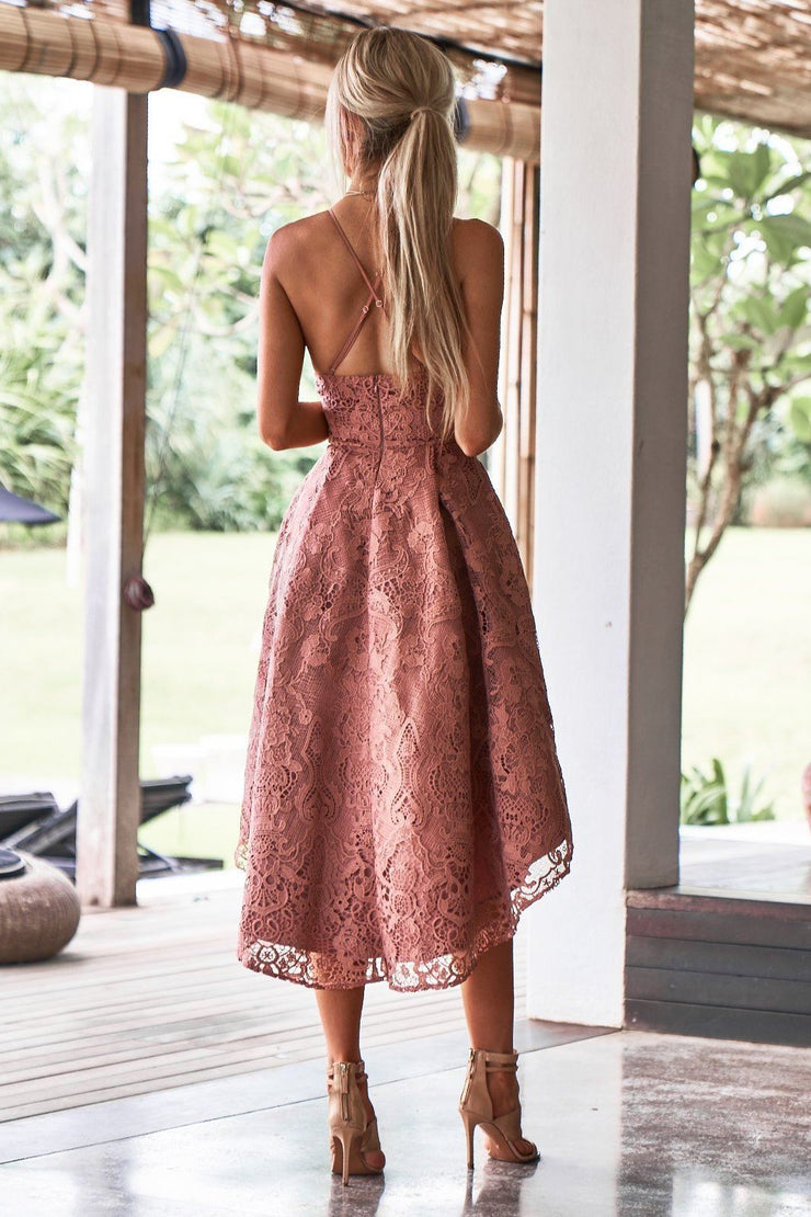 Marilyn Dress - Mauve - SHOPJAUS - JAUS