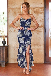 Marissa Dress - Navy - SHOPJAUS - JAUS