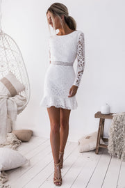 Medindie Dress - White - SHOPJAUS - JAUS