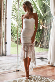 Mesina Dress - White - SHOPJAUS - JAUS