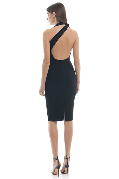 Misha Collection Misu Midi Dress - Black - SHOPJAUS - JAUS