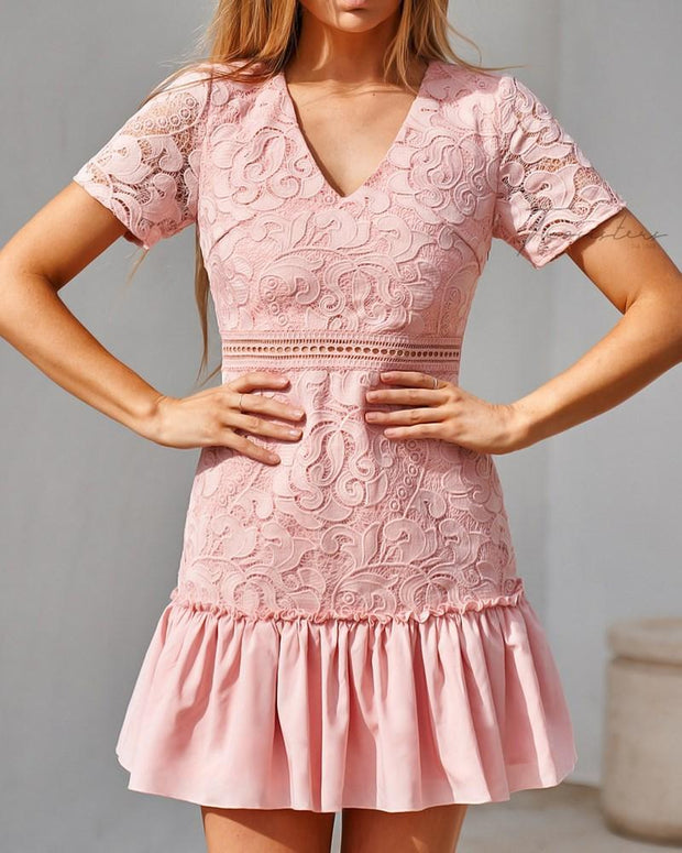 Missha Dress - Pink - SHOPJAUS - JAUS