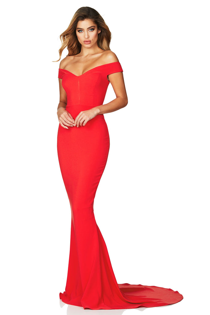 Nookie Allure Gown - Cherry - SHOPJAUS - JAUS