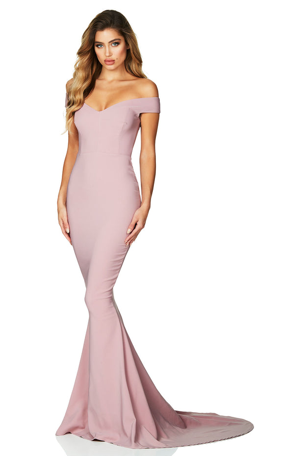 Nookie Allure Gown - Dusty Pink - SHOPJAUS - JAUS