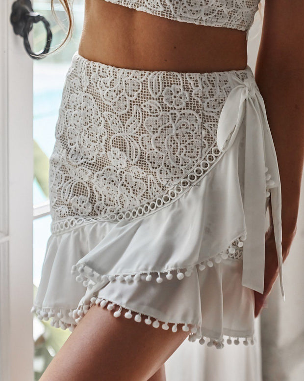 Nicola Set - White - SHOPJAUS - JAUS