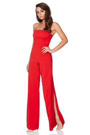 Nookie Glamour Jumpsuit - Cherry - SHOPJAUS - JAUS