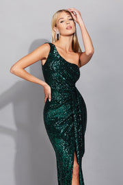 Nookie Palazzo Gown - Teal - SHOPJAUS - JAUS