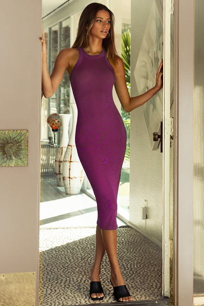 Shiloh Dress - Grape