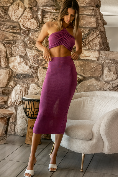 Desire Skirt - Grape