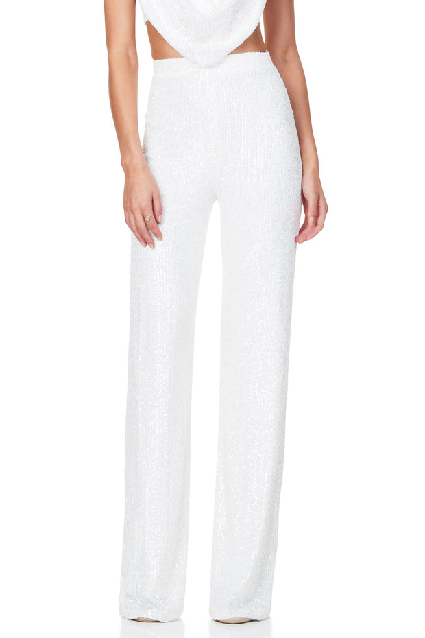 Nookie Pandora Pants - White