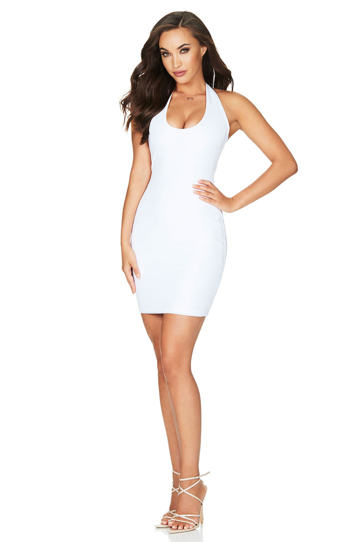 Nookie Passion Mini Dress - White - SHOPJAUS - JAUS