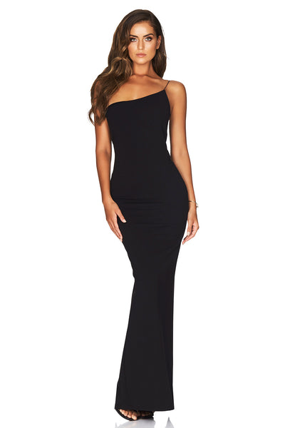 Nookie Penelope Gown - Black - SHOPJAUS - JAUS