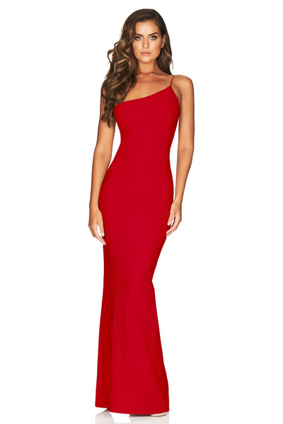 Nookie Penelope Gown - Red - SHOPJAUS - JAUS