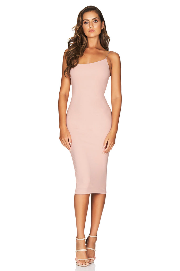Nookie Penelope Midi Dress - Blush - SHOPJAUS - JAUS