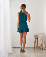 Pip Dress - Teal - SHOPJAUS - JAUS