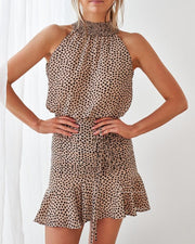 Pip Dress - Leopard - SHOPJAUS - JAUS