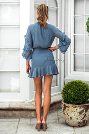 Piper Dress - Steel Blue - SHOPJAUS - JAUS