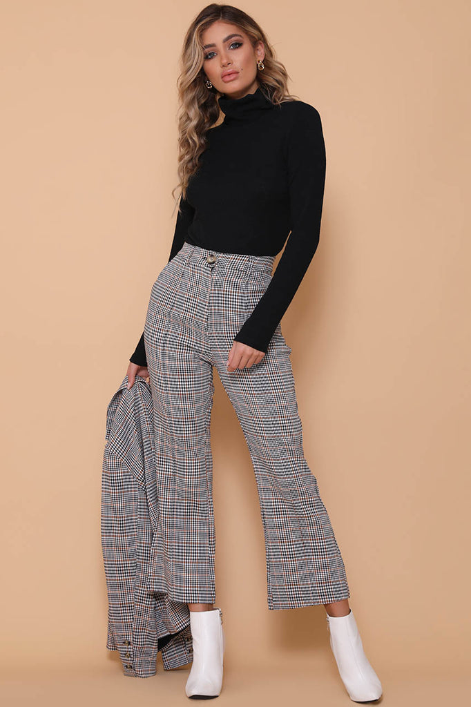 Lucy Plaid Pants - SHOPJAUS - JAUS