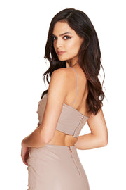 Nookie Posse Crop - Nude - SHOPJAUS - JAUS