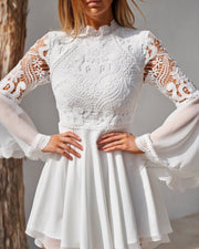 Paige Dress - White - SHOPJAUS - JAUS