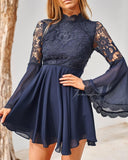 Paige Dress - Navy