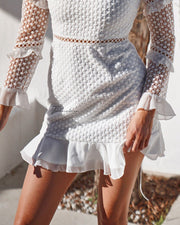 Parson Dress - White - SHOPJAUS - JAUS