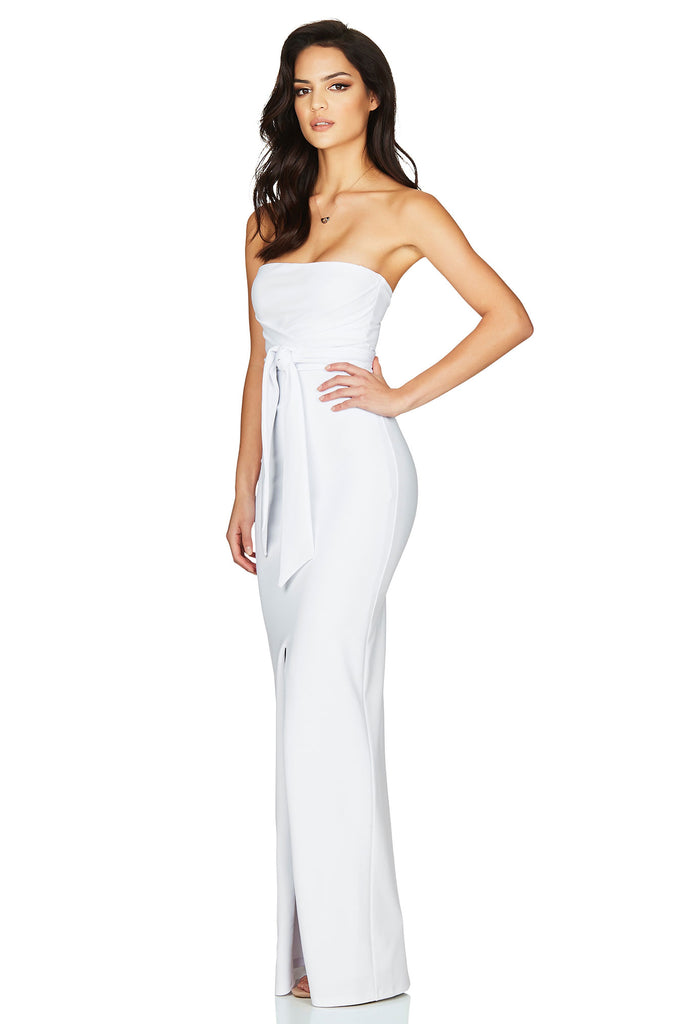 Nookie Royal Gown - White