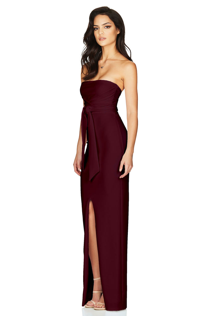 Nookie Royal Gown - Wine