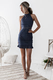 Rivers Dress - Steele Blue - SHOPJAUS - JAUS