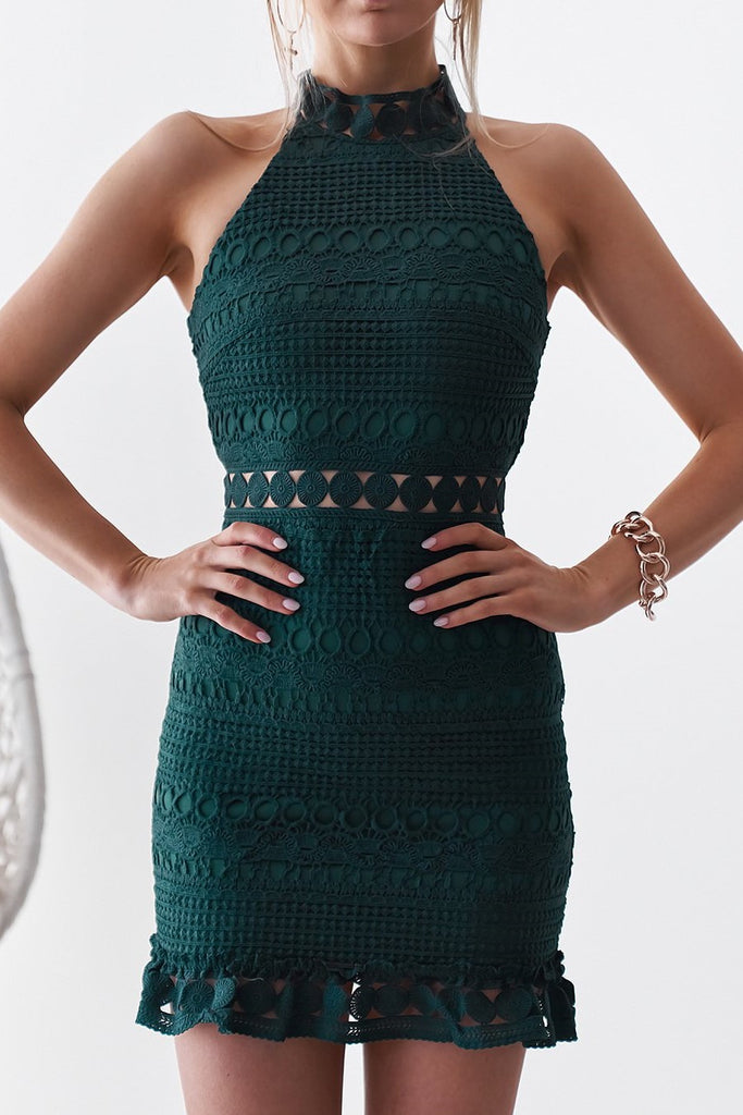 Rivers Dress - Emerald